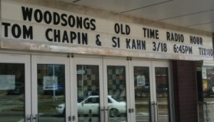 WoodSongs Marquee