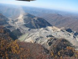 (Photo of MTR mine by Vivian Stockman of OVEC; flyover by SouthWings.)
