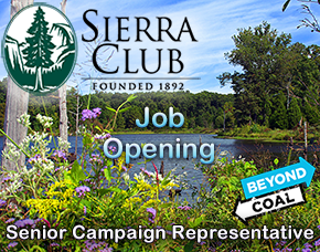 Job Opening - Sierra Club Beyond Coal