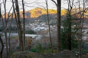 City of Whitesburg, Overlook from Town Hill Trail (c) Mark W Kidd